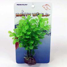 PENN PLAX BETTA WORLD zöld műnövény 10cm
