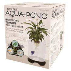 PENN PLAX AQUA-PONIC 5,3l akvárium s kvetináčom pre biologickú rovnováhu