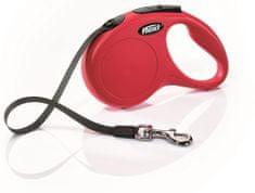 Flexi New Classic pásek 5 m, červená
