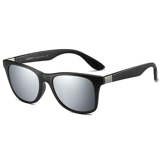 Dubery Columbia 3 slnečné okuliare, Black / Silver