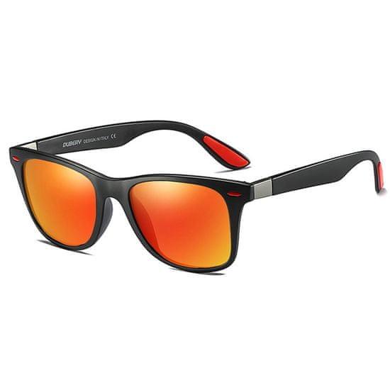 Dubery Columbia 1 slnečné okuliare, Black / Orange