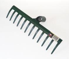 MAGG Hrábě zahradní kovové 340 mm, 12 zubů, bez násady