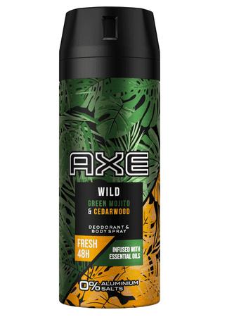 Axe Green Mojito & Cedarwood deodorant v razpršilu, 150 ml