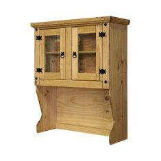 IDEA nábytek Nástavec příborníku 2 dveře CORONA vosk