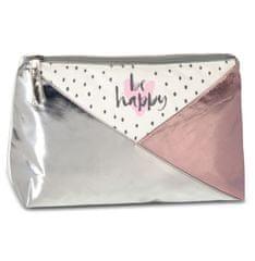 FABRIZIO Kosmetická taška Fabrizio Happy růžová
