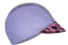 Unuo Dievčenská funkčná čiapka so šiltom UV 50+ Veľryby