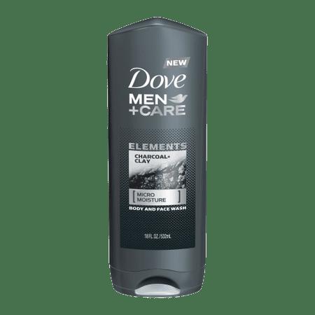 Dove Men+Care Charcoal & Clay gel za prhanje, 250 ml