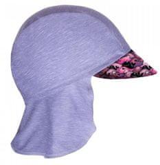 Unuo Dievčenská funkčná čiapka s plachtičkou UV 50+ Veľryby