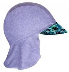 Unuo Chlapčenská funkčná čiapka s plachtičkou UV 50+ Veľryby