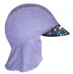 Unuo Dievčenská funkčná čiapka s plachtičkou UV 50+ Morský svet