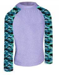 Unuo chlapčenské funkčné tričko UV 50+ Veľryby
