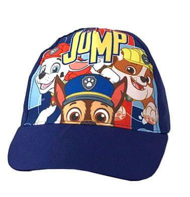 Yetty kapa s šiltom Tačke na patrulji – Jump, 52, modra