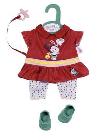 BABY born Little športno oblačilo za punčko/lutko, rdeča, 36 cm
