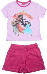 Sun City Dětské pyžamo Elena z Avaloru bavlna růžové Velikost: 104 (4 roky)