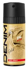 Denim Gold tělový deodorant 150 ml