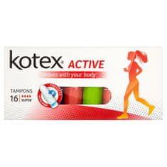 Kotex KOTEX® Active Super tampony 16 ks