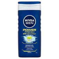 Nivea Men Power Fresh sprchový gel 250 ml