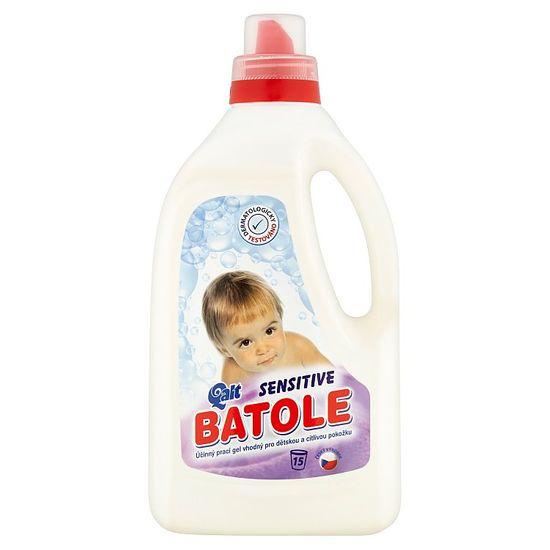 BATOLE Sensitive prací gel pro dětskou pokožku, 15 praní 1,5 l