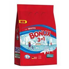 Bonux White Polar Ice Fresh prací prášok, 20 praní