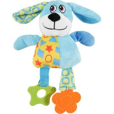Zolux Kutya plüss játék kölyökkutyáknak 20x7,5x22,5cm kék
