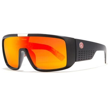 KDEAM Novato 61 napszemüveg, Black / Orange