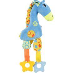 Zolux GIRAFFE plyšová hračka pre psov 19,5 x 5 x 29,5cm modrá