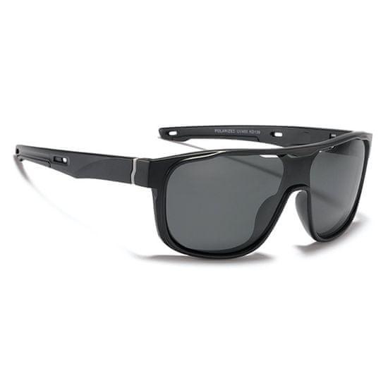 KDEAM Wayne 1 slnečné okuliare, Black / Black