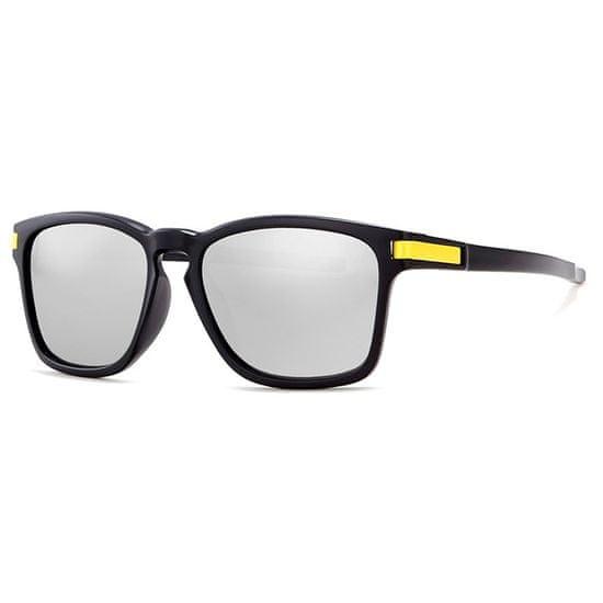 KDEAM Mandan 2 sluneční brýle, Black / Silver