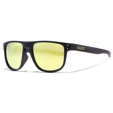 KDEAM Enfield 5 napszemüveg, Black / Yellow