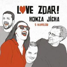 Honza Jícha s kapelou: Love zdar! - CD