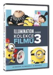 Já, padouch 1.-3. (3x DVD) - DVD