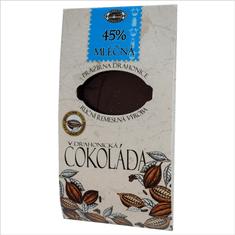Pražírna Drahonice Mléčná 45% čokoláda