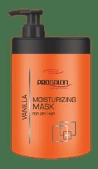 PROSALON Hydratační vlasová maska Prosalon Professional s vanilkou (1000 ml)
