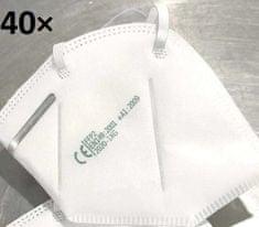 Respirátor, ochranná maska KN-95 (FFP-2) 40ks v balení