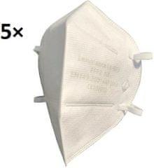 Respirátor, ochranná maska FFP2 - 5 ks