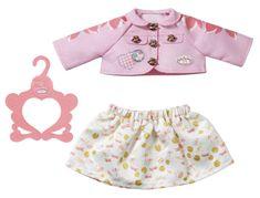 Baby Annabell oblačila za igro, roza, 43 cm