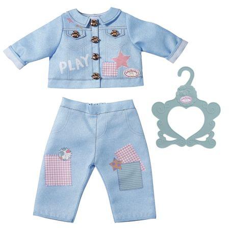 Baby Annabell oblačila za igro, modra, 43 cm