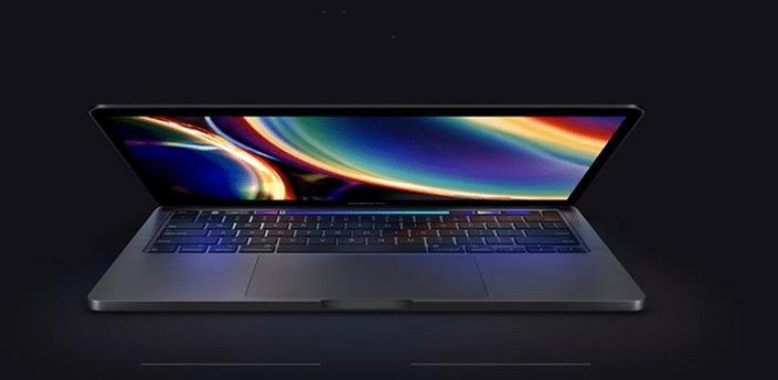 notebook Apple MacBook Pro 13 2020 Touch Bar 512 GB (MWP42CZ/A) väčší výkon intel core touch bar profesionálny