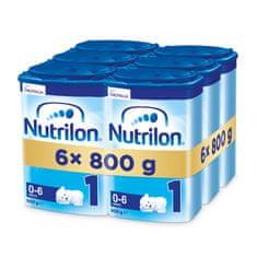 Nutrilon 1 počiatočné dojčenské mlieko 6x 800g, 0+