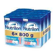 Nutrilon 1 Good Sleep počiatočnej dojčenské mlieko 6x 800 g, 0+
