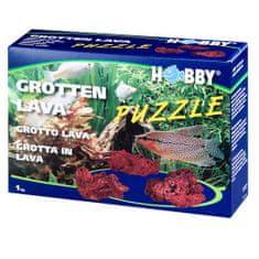 HOBBY aquaristic HOBBY Grotto Puzzle LAVA apró dekoráció