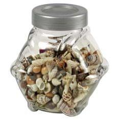 HOBBY aquaristic HOBBY Sea Shells decorative glass S/M 1L- dekorativní sklo