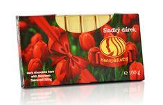 Hanny Kathy - Čokoládové tyčinky espresso 100g - Tulipány Sladký dárek