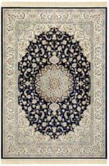 NOURISTAN Kusový koberec Naveh 104378 Darkblue/Cream