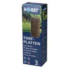 HOBBY aquaristic HOBBY Rašelinové desky 3ks, 36x9x1,8cm