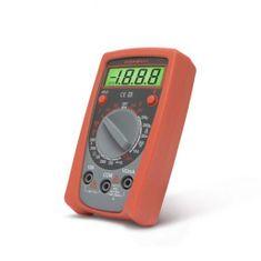 MAXWELL Digitalni multimeter z osvetljenim LCD zaslonom