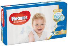 Huggies HUGGIES Ultra Comfort Jumbo vel.3 5-8kg 56 ks/bal.
