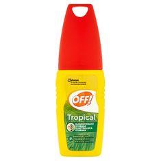 OFF! ! Tropical repelent s rozprašovačom