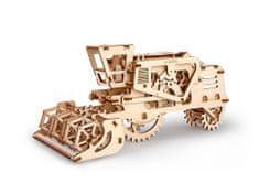 UGEARS Harvester 3D mechanické puzzle 154 dielov