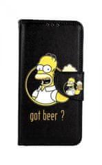 TopQ Pouzdro Huawei P30 Lite knížkové Homer 41450